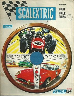 Scalextric 1968 Catalogue 9th Edition - Scalextric Catalogue 1968
