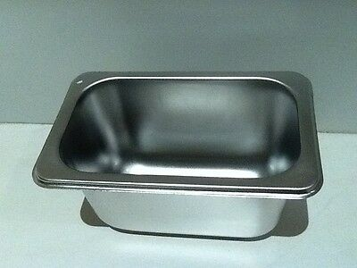 Brand New Stainless Steel 1/9 Food Tray