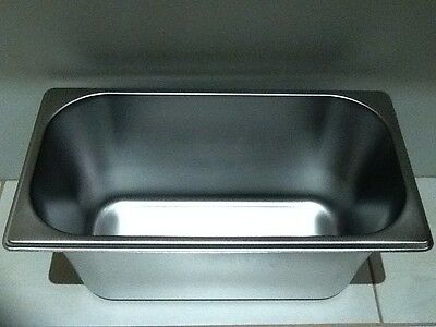 Brand New Stainless Steel 1/3 Food Tray