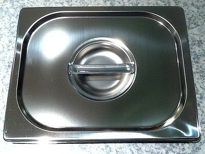 Brand New Stainless Steel 1/2 Tray Lid