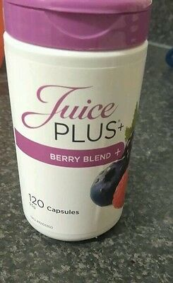 Juice Plus + Berry Blend Capsules 120 New Sealed Expire May 2018