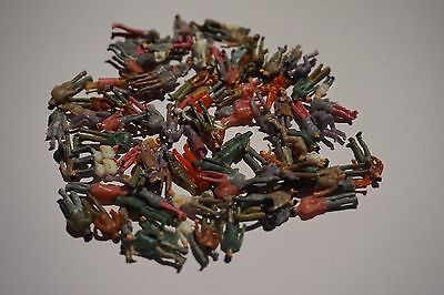 100 1:100 Scale Model Painted Figures Coloured People