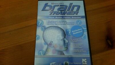 Mindscapes Brain Trainer PC CD-ROM