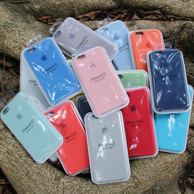 Promotions Original Copy Silicone Case For iPhone 6 6s Plus Apple Phone Case
