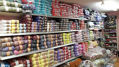 new stock joblot WHOLESALE 120 balls of hand knitting WOOL yarn mixed lot 09
