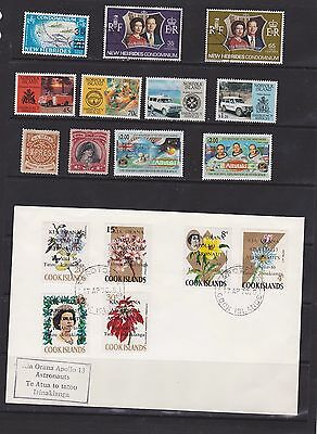 Cook Islands , Norfolk Island and others collection