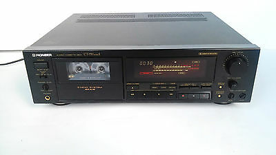 Pioneer Vintage Stereo Cassette Deck Player