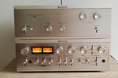 Sony Top End Vintage Stereo Power Amplifier Preamplifier