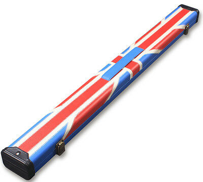 Speical Offer - New Union Jack 2 Pc 1/2 Snooker Cue Case