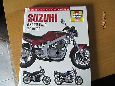 Suzuki Gs 500 Haynes Manual