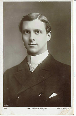 Hayden Coffin Theatre Actor  Vintage Rotary Postcard