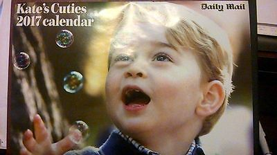 Kate's cuties 2017 calendar New Daily Mail Royal 13 Months