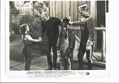 Shirley Temple Actress Susannah of the Mounties Vintage 1939 Photograph 10 x 8
