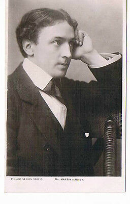 Mr Martin Harvey  Theatre Actor Vintage Philco Publishing co  Postcard