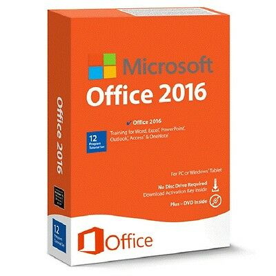 Microsoft Office 2016 Professional Plus   OFFICIAL   Full Edition   D/L & Licens