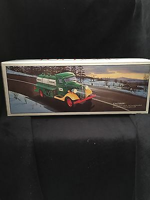 NEW 1985 First HESS Truck Toy Bank MINT In Unopened Box All Inserts Included