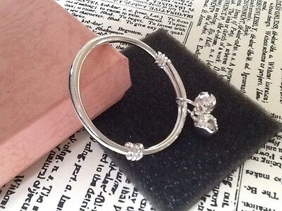 Tibetan Silver Baby Bangle Bells UK Seller Free Post Gift Bag