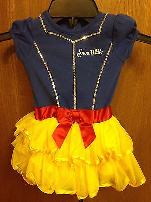 Disney Baby Snow White 18 Months Toddler Dress up Costume GUC