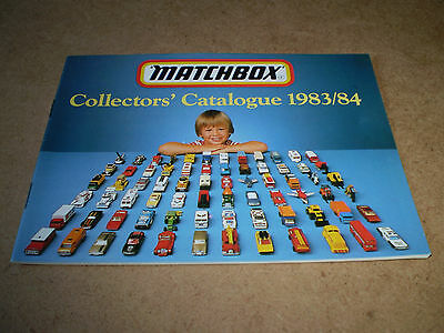 Matchbox Toy Catalogue 1983/84 Australian Edition Excellent Condition