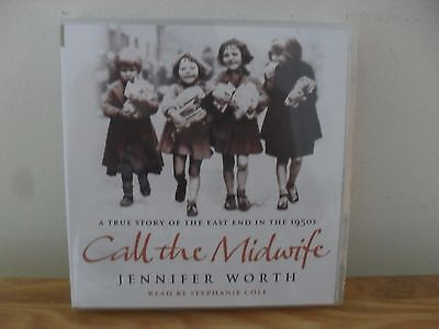 BNIB Sealed Call the Midwife Audiobook x 4 CDs.