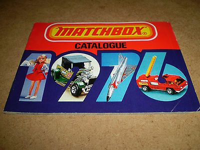 Matchbox Toy Catalogue 1976 Usa Edition Excellent Condition