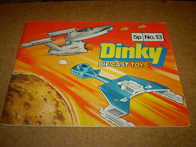 DINKY TOY CATALOGUE 1977 13th UK EDITION EXCELLENT VIRT MINT CONDITION FOR AGE