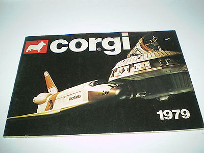 Corgi Toy Catalogue 1979 Uk Edition Excellent Condition For Age