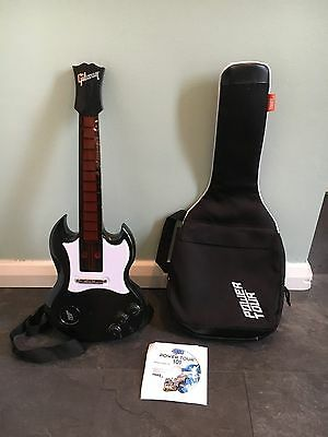 Power Tour Toy Electric Guitar - Gibson - Black - Tiger Electronics/Hasbro
