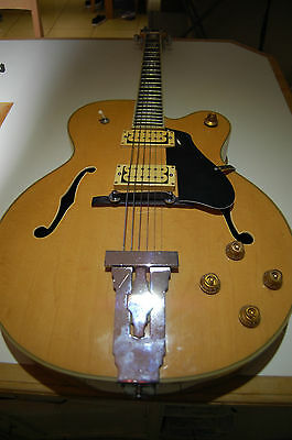 PRICE REDUCTION - Hondo Fatboy Jazz Guitar - Made in Japan - more photos added!