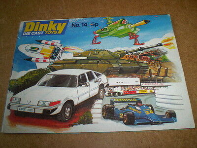 DINKY TOY CATALOGUE 1978 14th UK EDITION EXCELLENT CONDITION FOR AGE