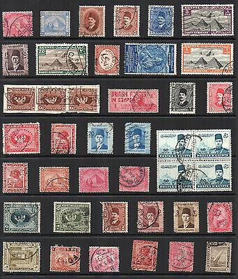 EGYPT Stamp Collection used REF:QE183