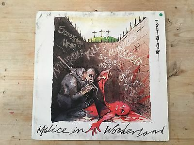 "The Storm 12"" Single Malice In Wonderland Silent Records Silent 1"