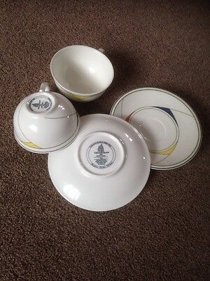 Trio Cups And Saucers Villeroy & Boch