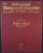 Advanced Dungeons & Dragons 2Nd Edition-The Complete Psionics Handbook