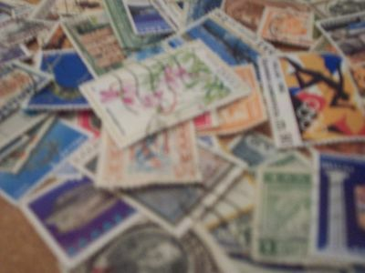 100 Stamps Of Greece