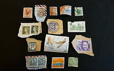 14x small Job lot stamps