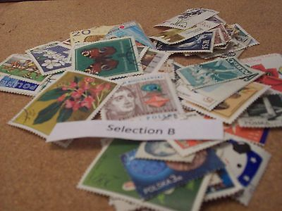 100 Stamps Of Poland Selection B