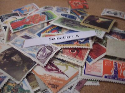100 Stamps Of Russia Selection A