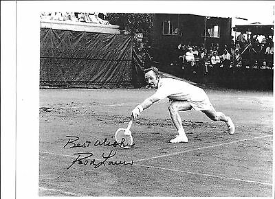 Rod Laver -Australian tennis player of the 60's  AWESOME  AUTOGRAPHED 8x10 PHOTO