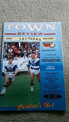 Rugby league programs 1995