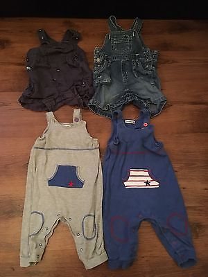 Bundle Of Baby Boy Dungarees 9-12 Months