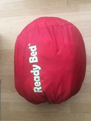 Ready Bed. Double. All In One Inflatable & Sleeping Bag. Used Once. Vgc. Camping