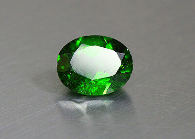 1.98 Cts_Glittering Top Luster_100 % Natural Vivid Green Chrome Diopside_Russia