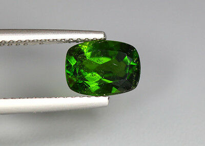 1.46 Cts_Glittering Top Luster_100 % Natural Vivid Green Chrome Diopside_Russia