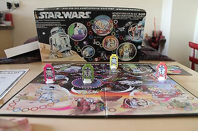 Classic vintage STAR WARS: ADVENTURES OF R2-D2 board Game 1977 rare