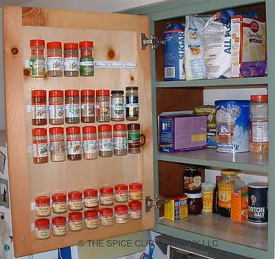 Original Spice Clips/3 Racks Per Pkg- 1 Package Holds 12 Containers-Free Ship