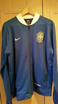 Authentic Brazil tracksuit top