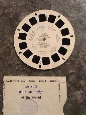 ViewMaster Reel Trooping Of The Colour