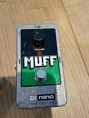 Electro Harmonix Muff overdrive guitar pedal