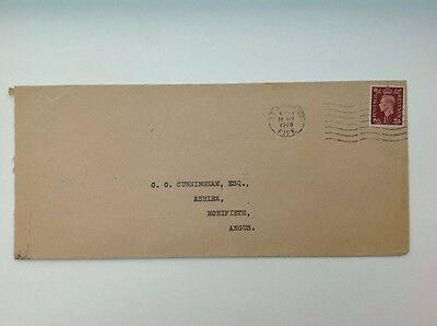4no King George VI Covers Envelopes with 1 1/2d Stamps